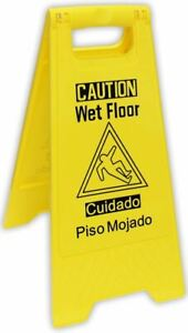 Caution Sign Wet floor pack Of 1 Sf 17254
