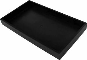 Black Plastic Tray pack Of 1 Tj 91175