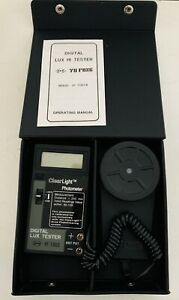 Yfe Digital Light Meter Yu Fong Digital Lux Hi Tester Yf 1065a New