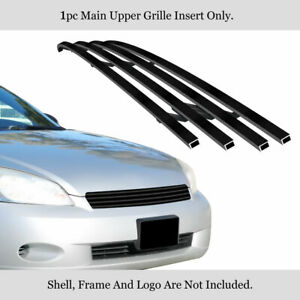 Fits 2006 2013 Chevy Impala 2006 2007 Monte Carlo Stainless Black Billet Grille