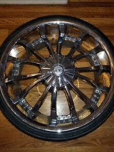 22 Inch Vct Staggered Rims