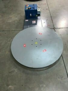 Pallet Wrapper stretch Wrapper Turntable Low Profile System With Remote Start
