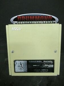 Asco Automatic Transfer Switch Control Panel