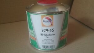 Glasurit 929 55 Hs Primer Filler Hardener Fast 500ml Express Catalyst