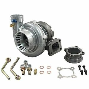 Cxracing T3 Gt35 Turbo Charger Anti surge 500 Hp For Civic 240sx Oil Fitting