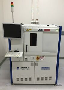 New Wave Research Accuscribe 2112 Wafer Scriber Stage Laser Enclosure