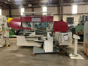 One Preowned 43 X 20 Behringer Hbp Series Semi automatic Band Saw