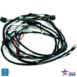 1960 Impala Bel Air Front Light Harness V8 With Stock Generator Ea