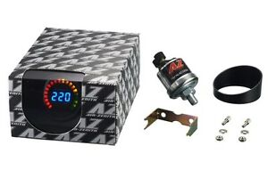 Air Zenith 220psi Digital Pressure Gauge Air Ride Bagged Rat Rod Mini