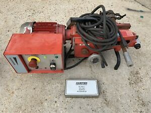 Hunter Ocl 360 A On The Car Disc Brake Rotor Lathe Machine Tool Resurfacer
