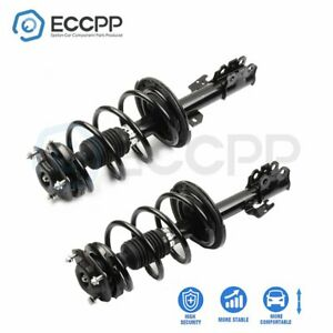 Fits Toyota Sienna 2007 2010 Front 2 Complete Struts Coil Spring Assemblies