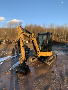 Cat 303 5 With Cab And Thumb