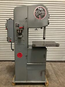 Doall 1612 16 Vertical Band Saw 1972 Usa gmt 2093