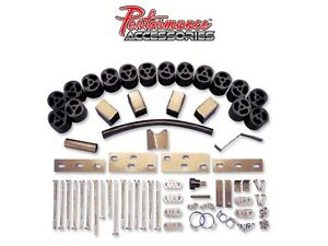Performance Accessories Pa883 3 Body Lift Kit For 1998 00 Ford Ranger 2 4wd Gas