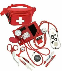 Deluxe Blood Pressure Kit With Sprague Rappaport Type Stethoscope Fanny Pack Kit