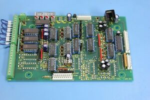 Semitool 16818a 16818 4 Channel Overtemp Module Board