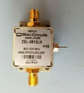New Minicircuits Rf Amplifier Zel 0812ln Tested