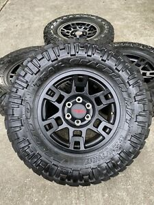 17 Inch Toyota Tacoma Oem 2018 2019 Trd Black Wheels Rims Only