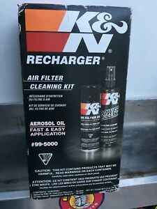Aerosol Recharger Air Filter Oil Cleaner Care Service Kit Cleaning Car Spray Set