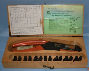 Thomas Betts R4081 Det 1 Interchangeable Die Compression Tool