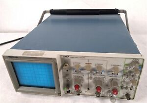 Tektronix 2215a 60mhz Rugged Light Weight Dual Channel 60 Mhz Oscilloscope