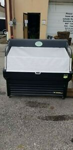 True Thac 48 Mobile Grab n go Refrigerated Merchandiser 3 Tier 115 Volts Tested