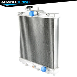 Fits 92 00 Honda Civic B18c Type R 2 Row 42mm Aluminum Cooling Racing Radiator