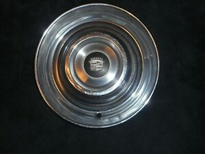 1954 55 Cadillac 4 Four 15 Sombrero Hub Cap Wheel Covers