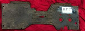 Nos 1939 Ford Toe Board Floor Pan For Commercial Vehicles Pickup R1155