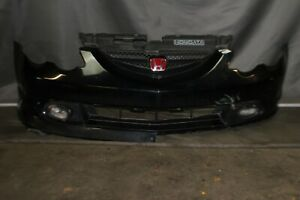 Oem 2002 2003 2004 Acura Rsx Type S Front Bumper Black