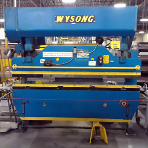 Used Wysong 8 X 55 ton Press Brake Accurpress Amada Cincinnati Trumpf