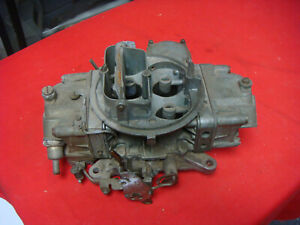 Ford Holley C7of 9510 c 390 Gt 4 Speed Carburetor Mustang Cougar List 3795 Core