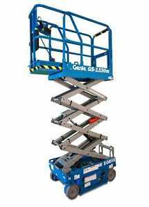 Genie gs 1330m 13 Ft Micro Electric Scissor Lift