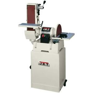Jet-708598K JSG-6CS 6 In. x 48 In. Belt  12 In. Disc Sander with Clos