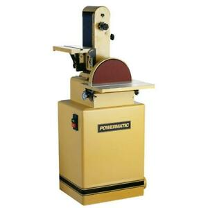 Powermatic-1791292K 6 In. x 48 In. Belt 12 In. Disc Sander 2 HP 3Ph