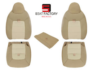 2003 To 2006 Ford Expedition Eddie Bauer Vinyl Seat Cover Solid Driver Passenger