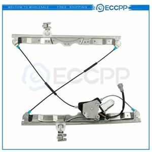 Power Window Regulator For 2005 2015 Nissan Armada Front Right With Motor