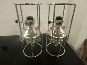 2 Alloy Products Small Stainless Steel Pressure Process Vessel 116 Psi