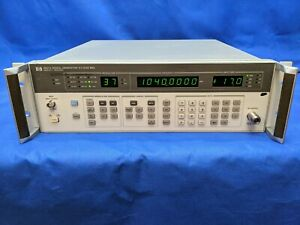 Hp Keysight Agilent 8657a 1 To 1 04 Ghz Signal Generator Tested In Orig Specs
