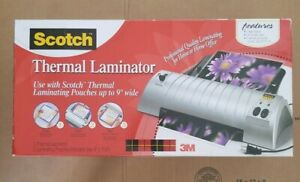 Scotch Thermal Laminator Only Without Laminating Pouches Office Home Supplies