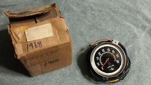 1968 Amc Amx Nos Factory New Tachometer W Wire Harness