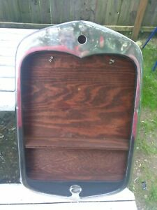 Model A Radiator Grill Shell 1930 1931 Ford Hot Rat Rod Grille Wall Wood Shelf