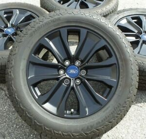 Black Ford F150 20 Wheels Rims Tires Factory Original Oem Expedition 2020 2019