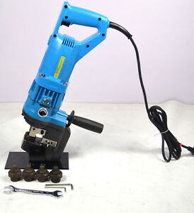 Electric Hydraulic Hole Puncher Steel Plate Hole Punching Machine New
