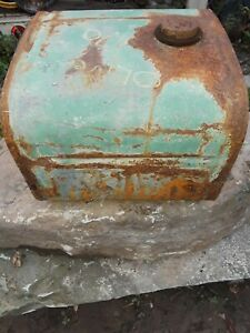 Oliver 70 Tractor Gas Tank Nice