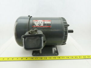Dayton 2n941h 1hp 1150rpm 184 Frame 208 230 460v 3ph Tefc Electric Ac Motor