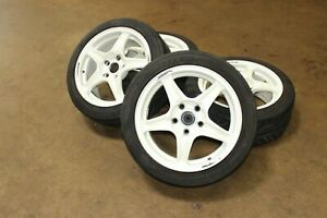Jdm Weds Sport 98 Spec Honda Acura Integra Dc2 Type R Wheels 5x114 3 With Tires