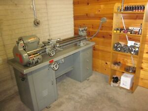 South Bend Lathe 10k Model Cl370rd With Some New Nos Tooling