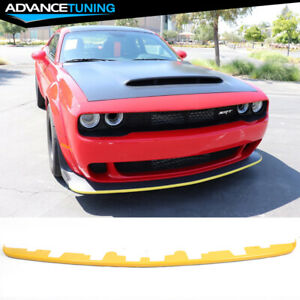 Fits 18 19 Dodge Challenger Wide Body Hellcat Demon Red Eye Front Splitter Guard