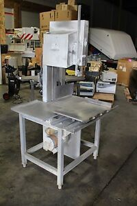Hobart Model 5801 Vertical Meat Bone Band Saw